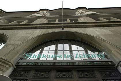 Hart umkämpft: Die Verhandlungen um die Süddeutsche Zeitung scheinen im Endstadium zu sein