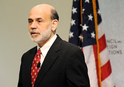 Optimistisch: US-Notenbankchef Bernanke
