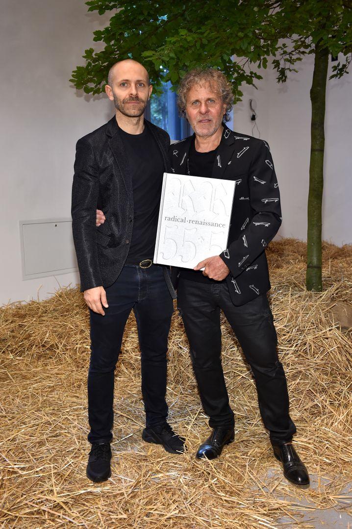 Stefano Rosso (links), Vater Renzo Rosso: In zwei bis drei Jahren soll der Modekonzern OTB börsenreif sein