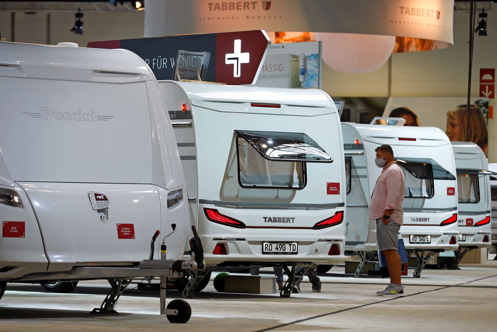 "Trade fair ""Caravan Salon"" for caravans, motorhomes and camping in Dusseldorf"