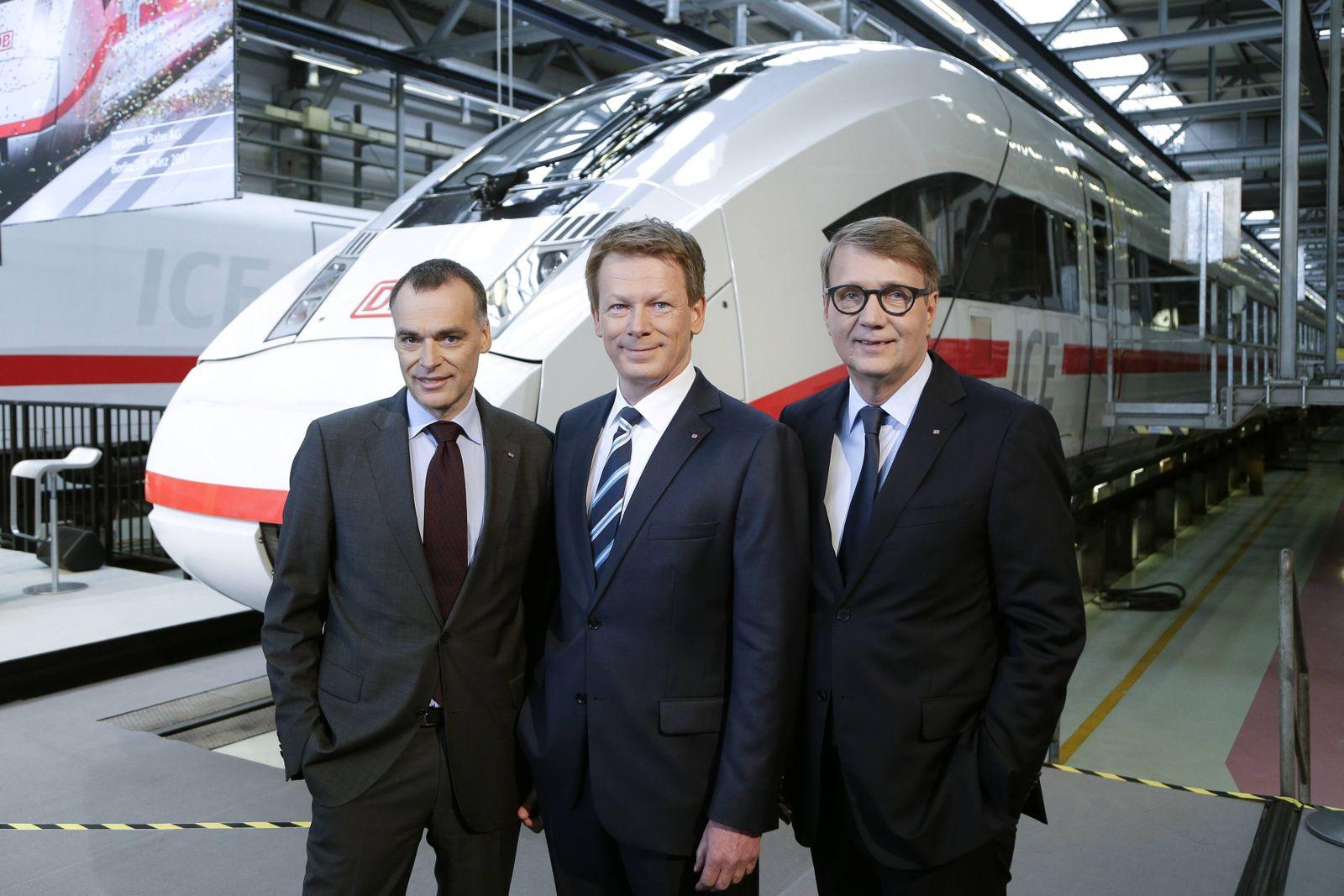 23 03 2017 Berlin Deutschland Bilanz Pressekonferenz der Deutsche Bahn AG mit dem neuen Vorstand
