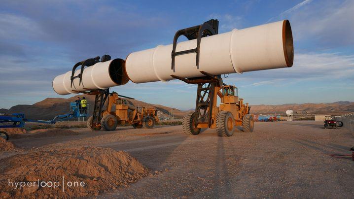 Teststrecke für revolutionäres Verkehrsmittel: Hier braust der erste Hyperloop durch die Röhre