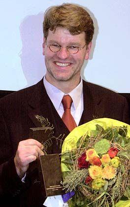 Preisträger: mm-Redakteur Henrik Müller