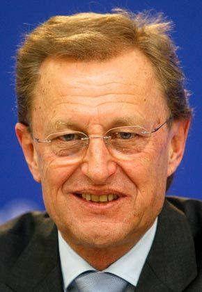 Die Zahlen im Blick: Allianz-Finanzchef Helmut Perlet