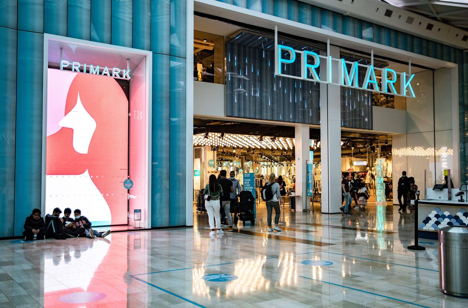 May 29, 2021, London, United Kingdom: People seen inside Primark, the Irish fast fashion retailer in London. London Unit