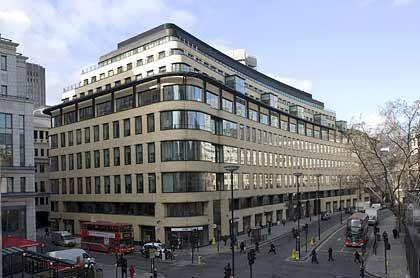 Arbeitsplatz des Kommunikationschefs: Deutsche Bank in London