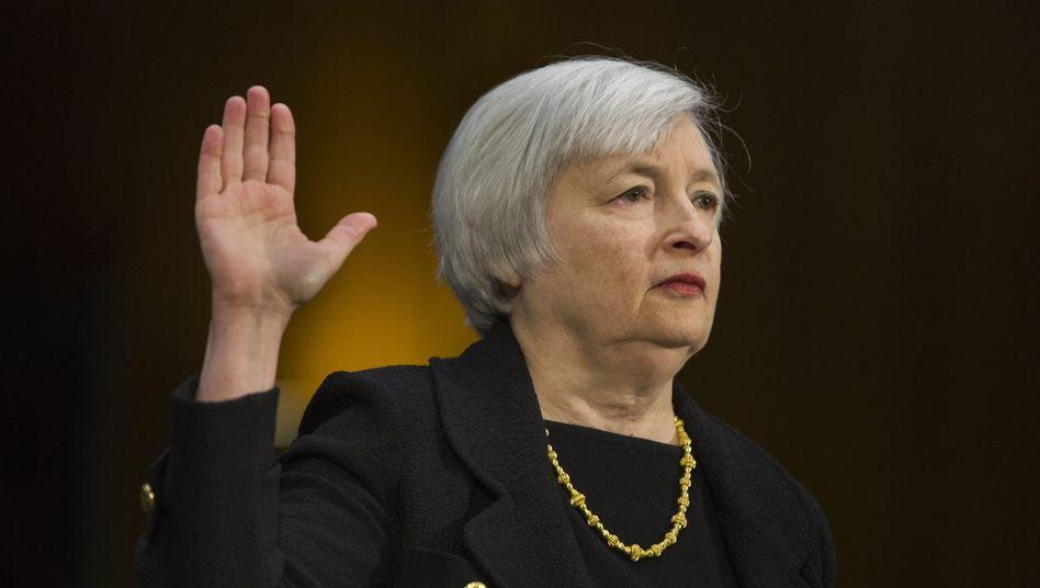 Janet Yellen: Die neue Notenbankchefin wird am Dienstag ihren Bericht zur Geldpolitik abgeben