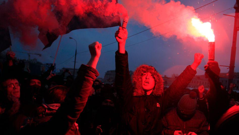 Aufruhr in Moskau: Alle Altersgruppen und Bevölkerungsschichten beteiligen sich an den Protesten