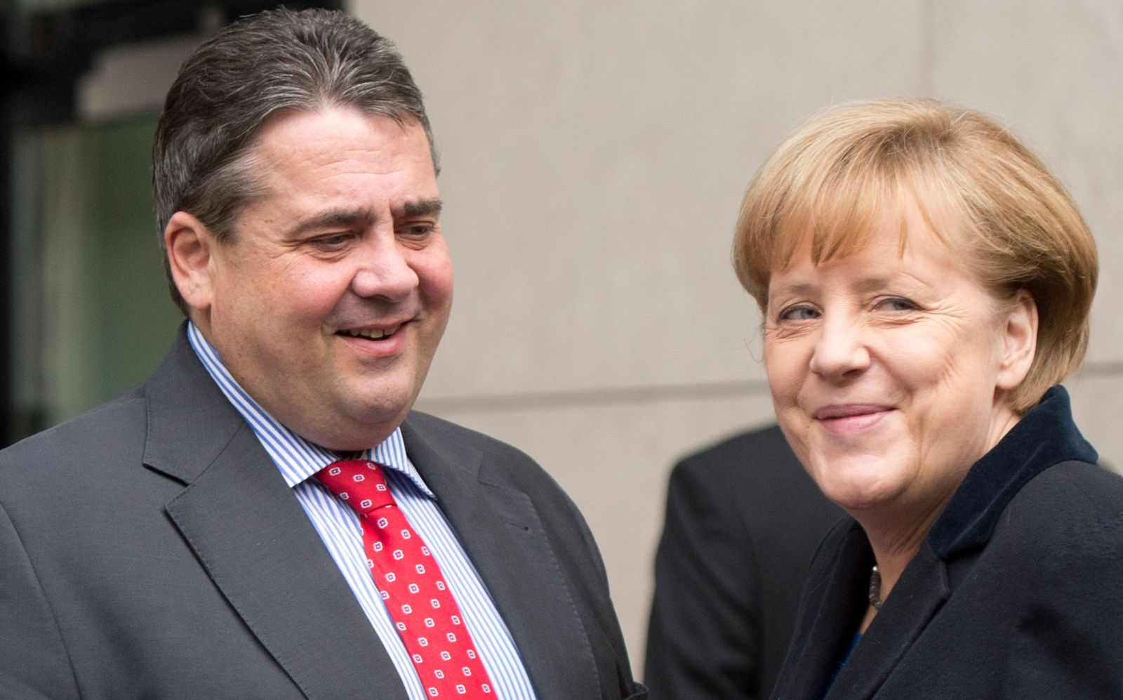 Merkel / Gabriel