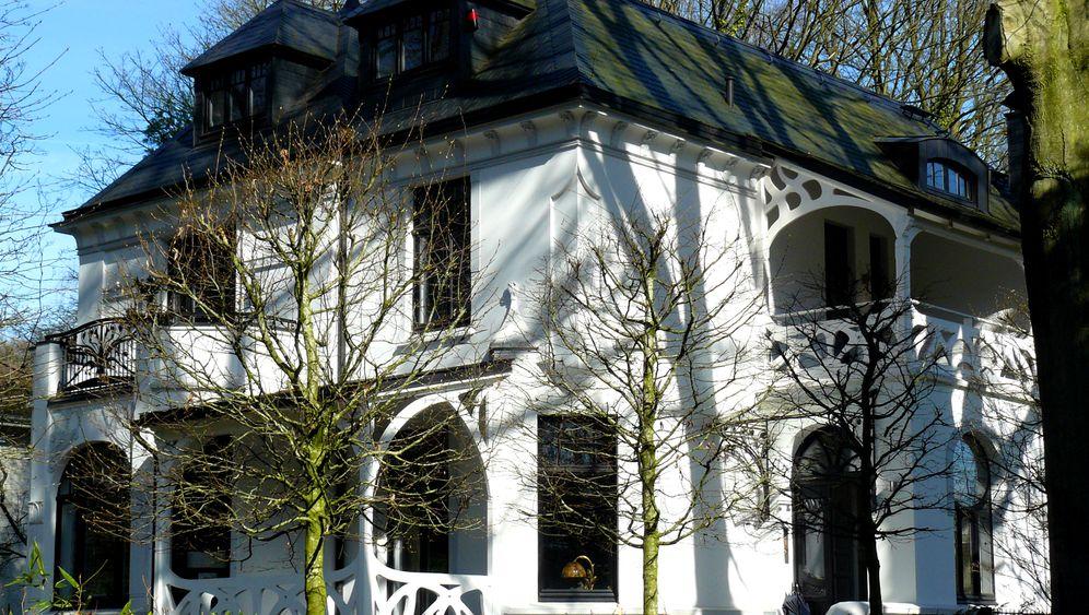Nobelanwesen für 3,7 Millionen: Bilder von Schultes Ex-Villa in Hamburg