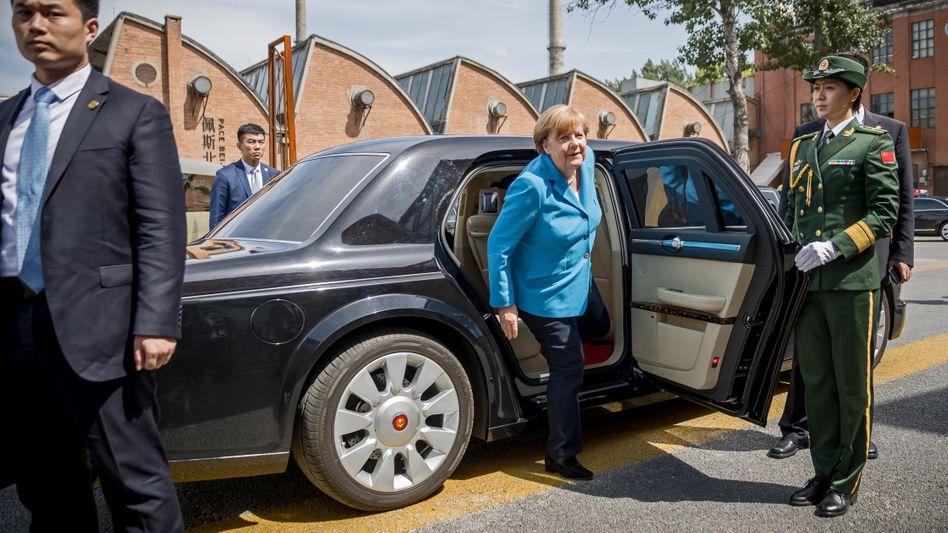 Besuch in Peking: Bundeskanzlerin Angela Merkel 2018.