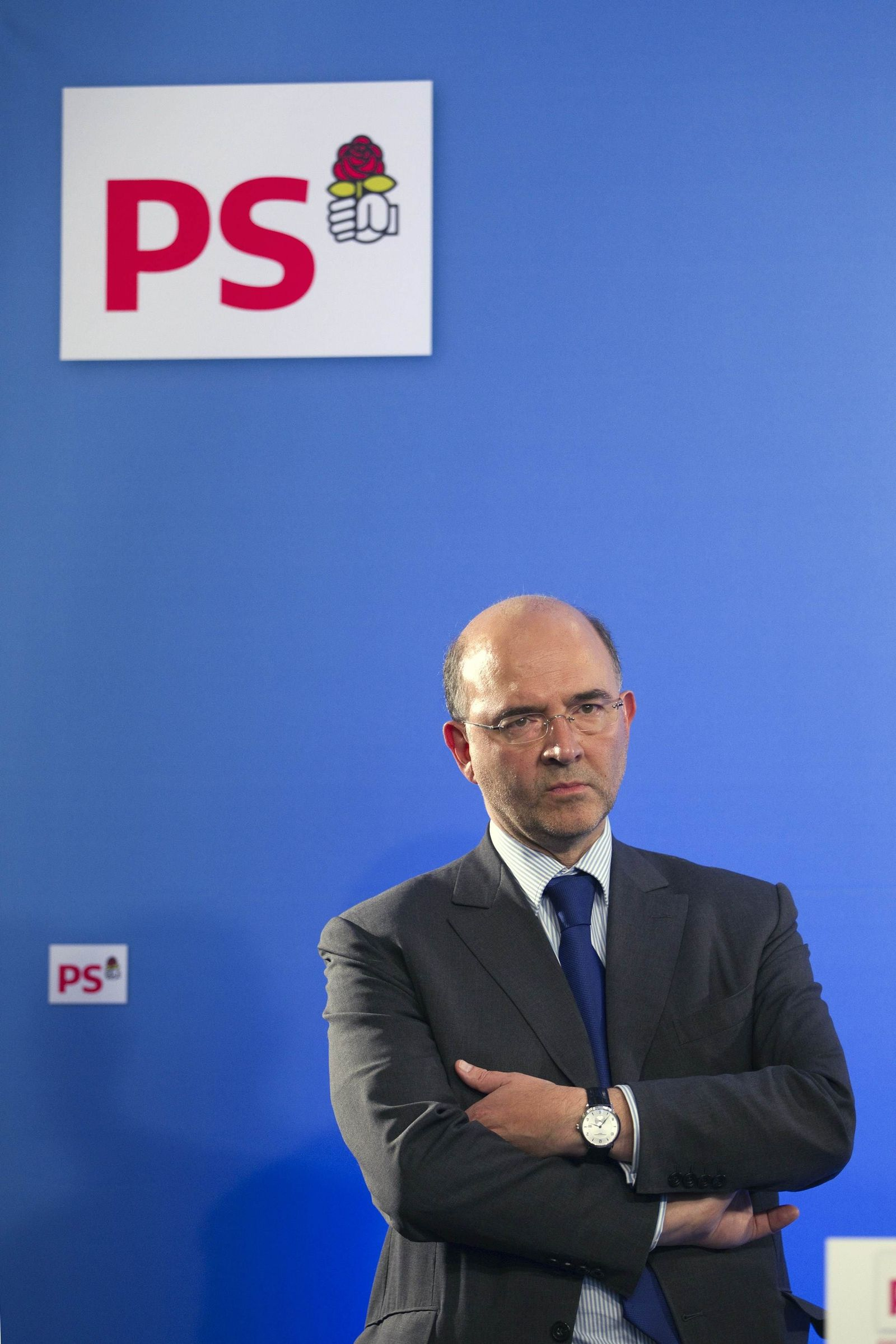 Wahlen Frankreich / Pierre Moscovici