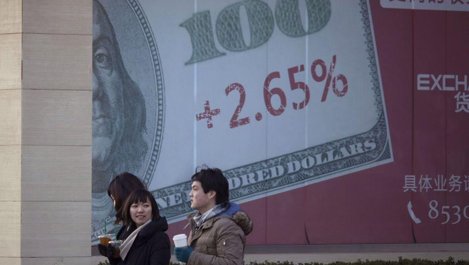 Bankenwerbung in China: Investoren sollten vorsichtig sein