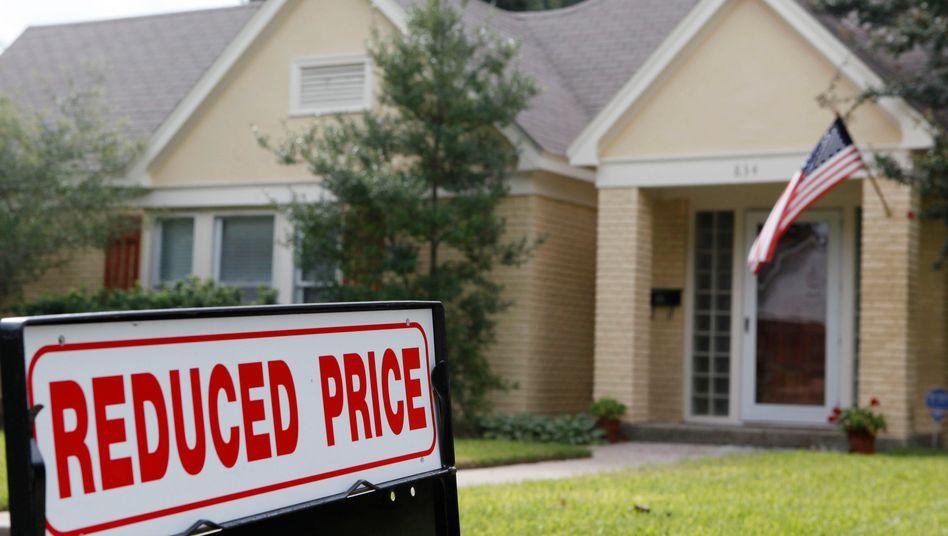 Einfamilienhaus in Dallas, Texas: Preise sinken im Schnitt
