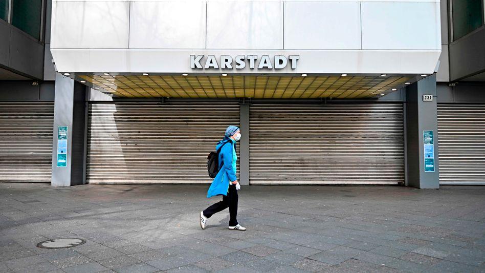 Lockdown: Die Corona-Schließung macht Galeria Karstadt Kaufhof zu schaffen