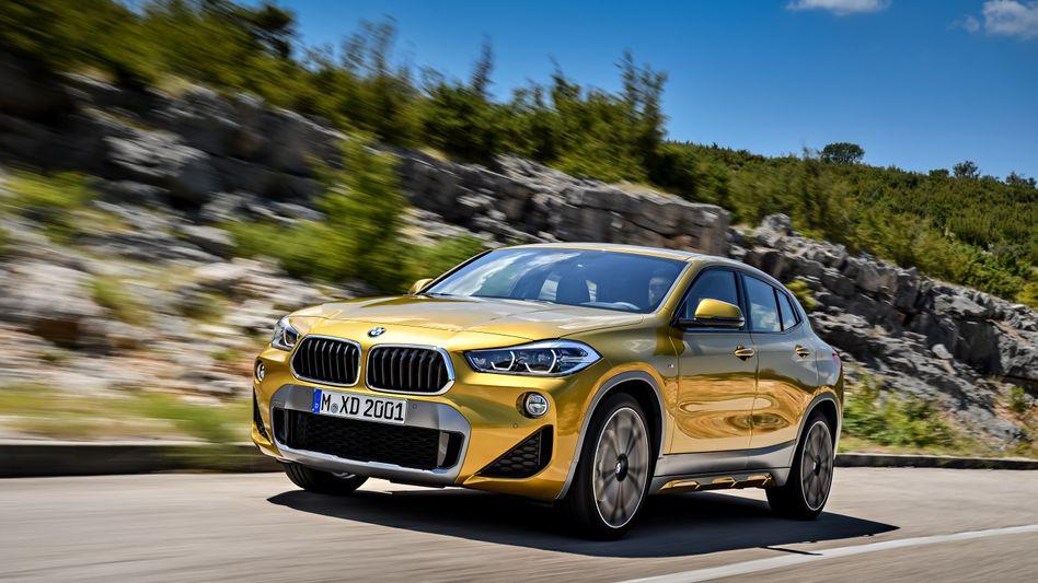 BMW X2: In den USA ist die Modellreihe X sehr beliebt. Mit ihr will BMW im laufenden Jahr die Kehrtwende schaffen