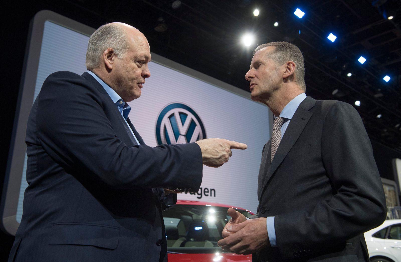 Automesse in Detroit - VW und Ford