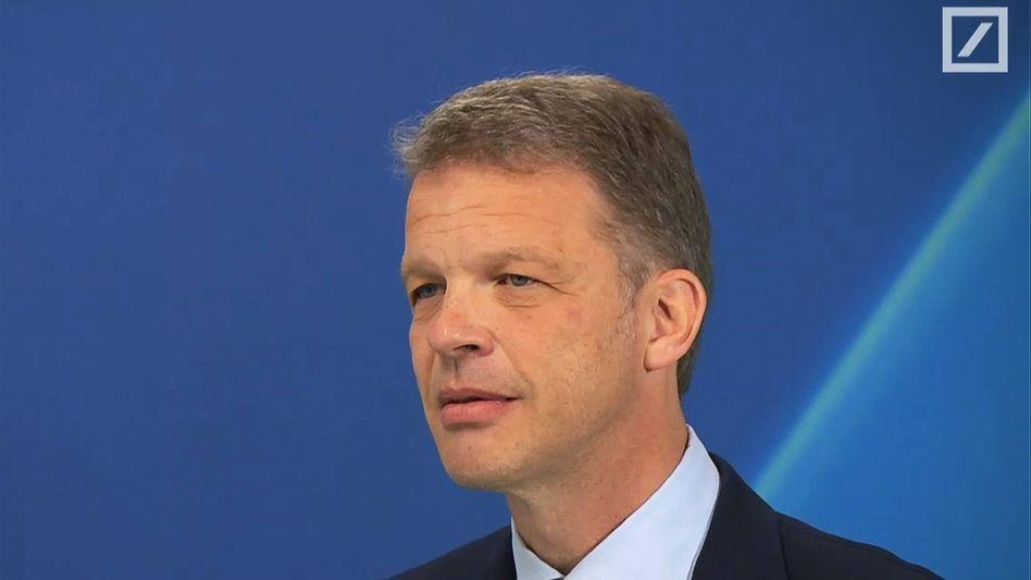 Christian Sewing: Der Chef der Deutschen Bank hält Fusionen im europäischen Bankensektor für notwendig