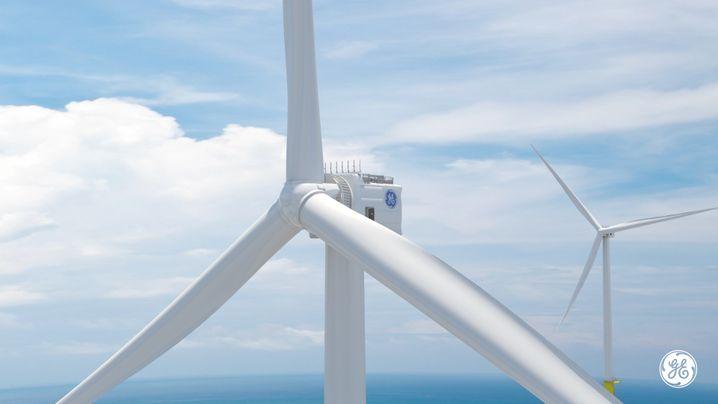Windturbine Haliade-X von General Electric
