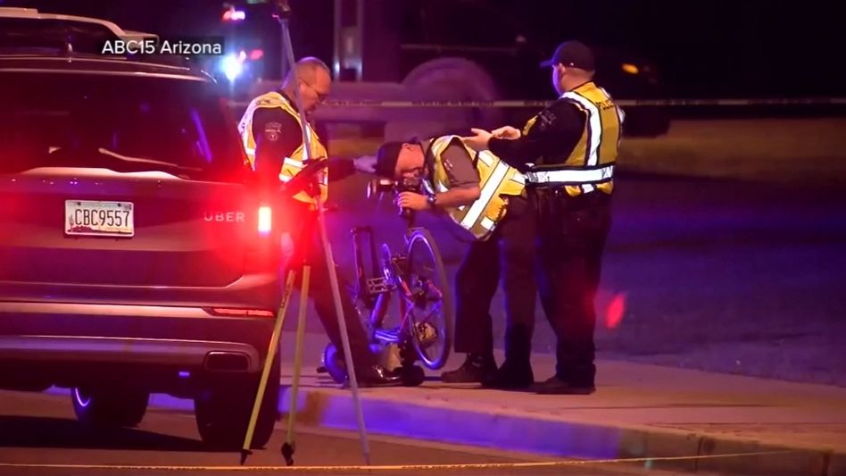 Dieser Uber-Testwagen, ein umgebauter Volvo XC90, verursachte im autonomen Fahrmodus einen tödlichen Unfall in Tempe, Arizona