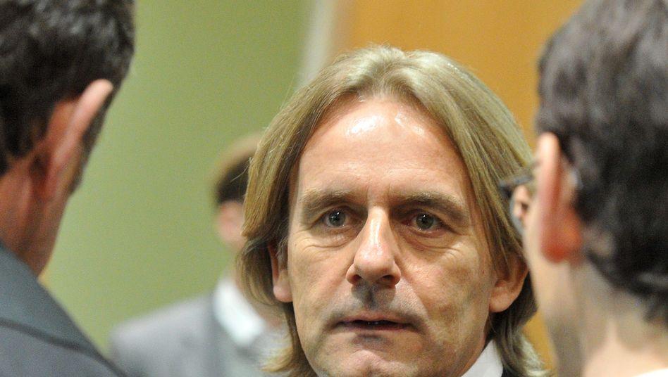 Michael Rook 2012 beim Prozess in Augsburg