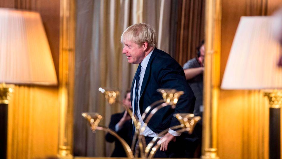 Boris Johnson: Hauptsache raus