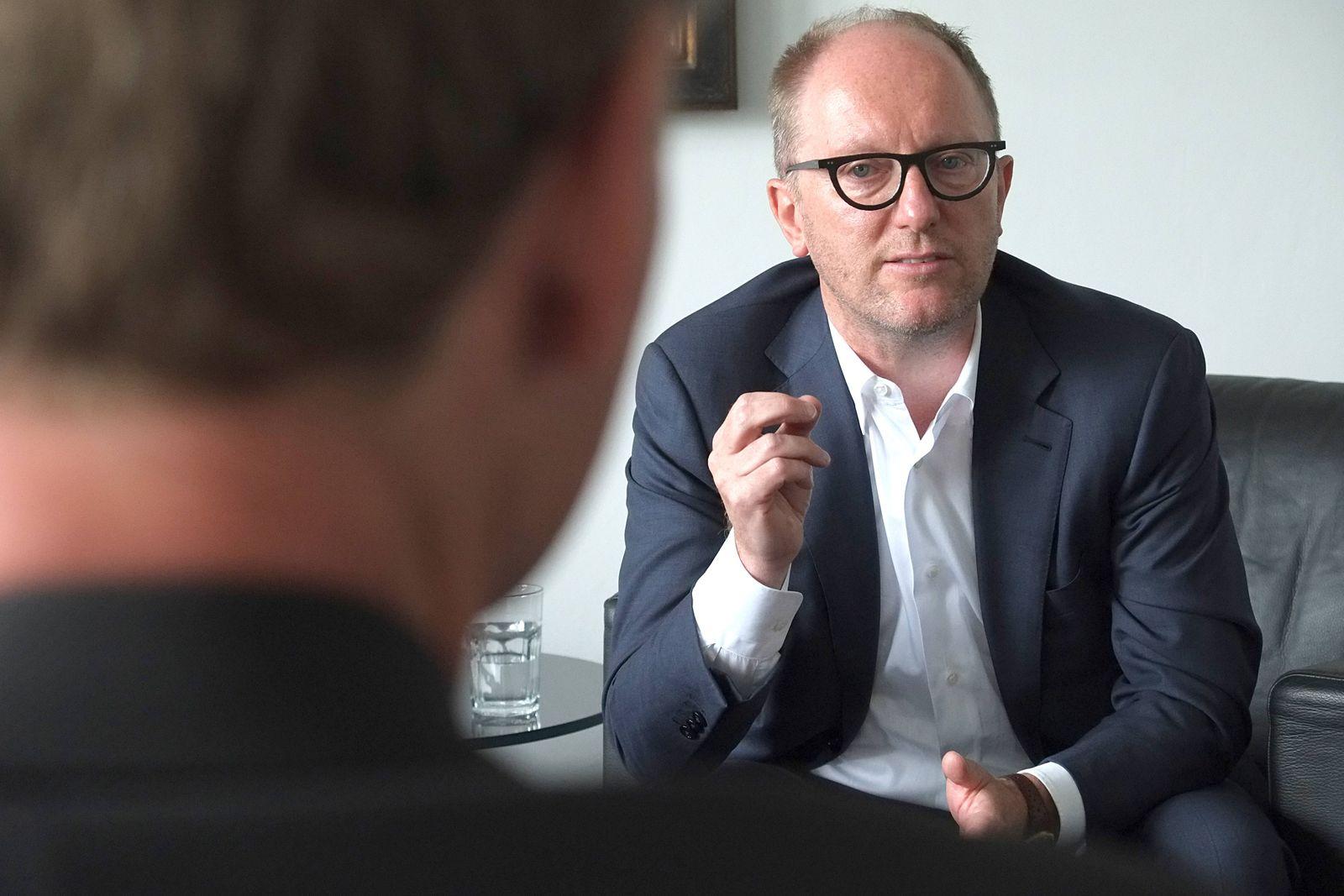 Michael Zahn im Interview Er ist Chief Executive Officer CEO und verantwortet die strategische A