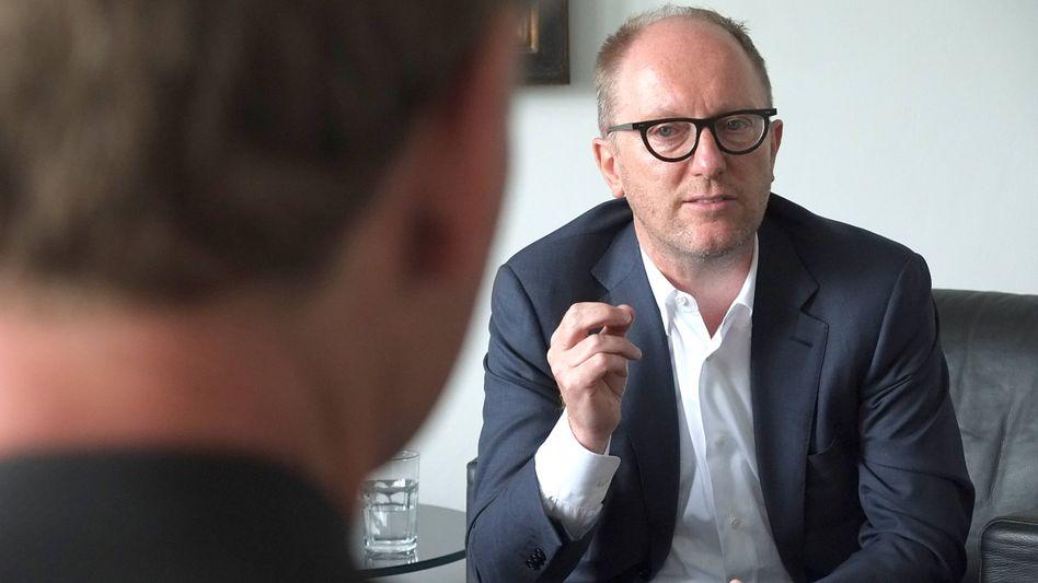 Will die Fusion mit Vonovia ebenfalls: Deutsche-Wohnen-Chef Michael Zahn