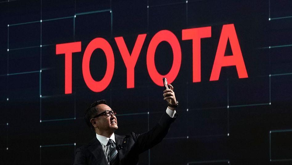 Auf dem Toyota-Weg: Akio Toyoda in Las Vegas