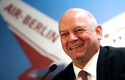 """Air Berlin-Chef Joachim Hunold: """"Schneller als mit Banken"""""""