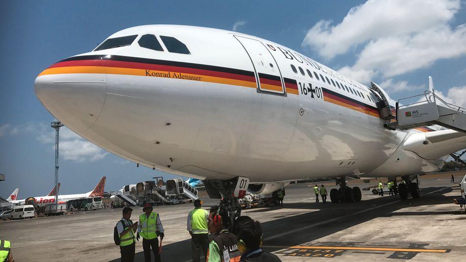 """Regierungsflugzeug """"Konrad Adenauer"""": Flugzeuge der Bundesregierung bereiten immer wieder Probleme"""