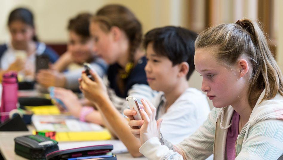 Smartphonenutzung in der Schule