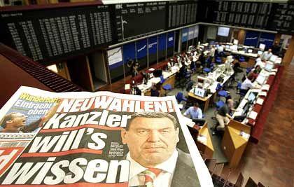 Weg frei für Neuwahlen: Die Börsen ignorieren das BVG-Urteil