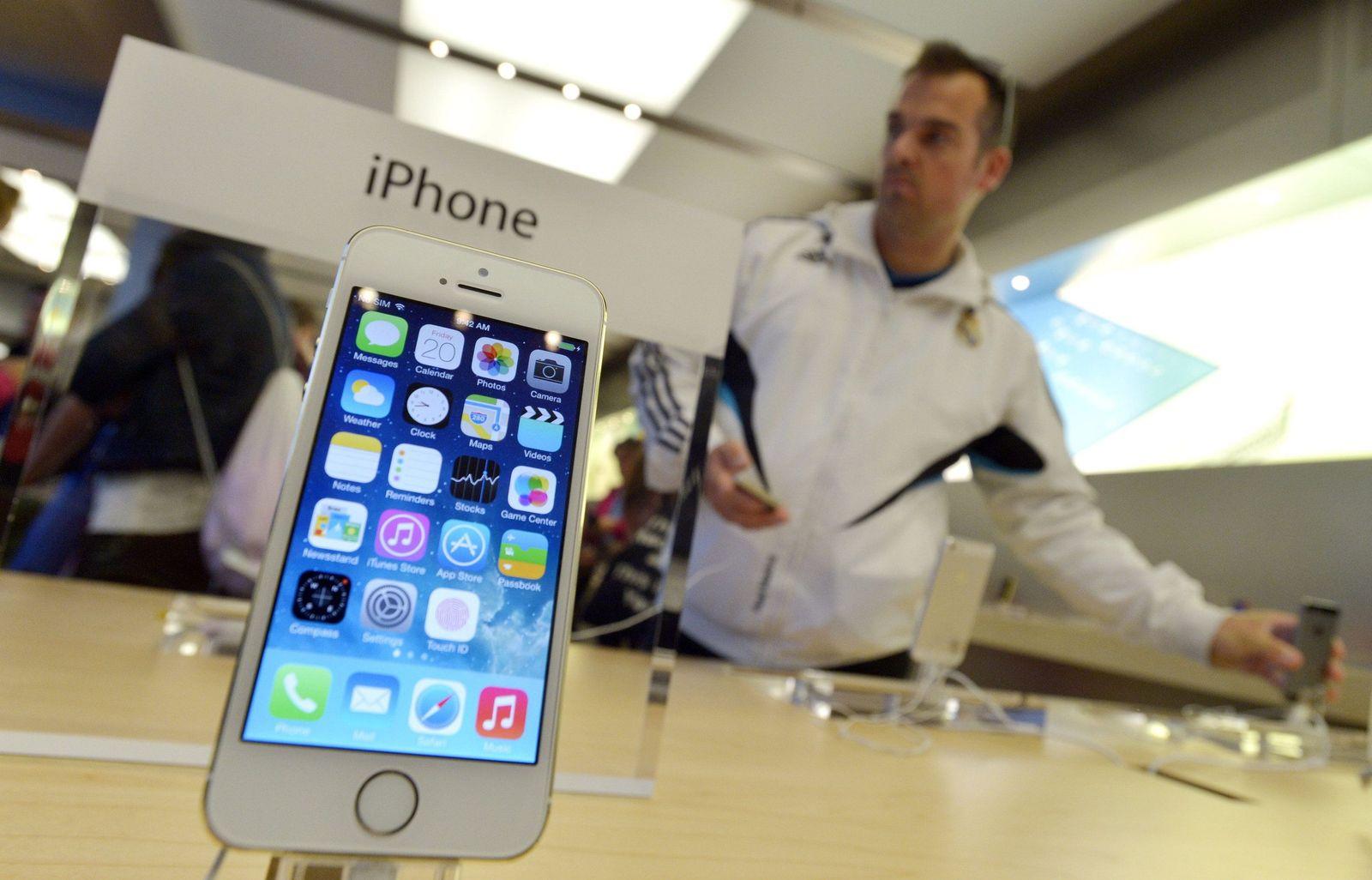 Neue iPhones von Apple 5s