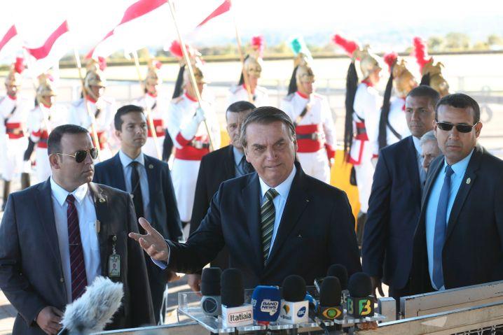 Jair Bolsonaro: Brasiliens Staatschef ist beleidigt - warum eigentlich?