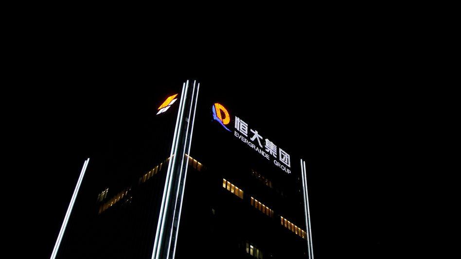 Alarmstimmung: Evergrande-Zentrale in Shenzhen