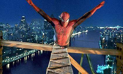 Routinejob: Spiderman alias Tobey Maguire in lebensgefährlicher Situation