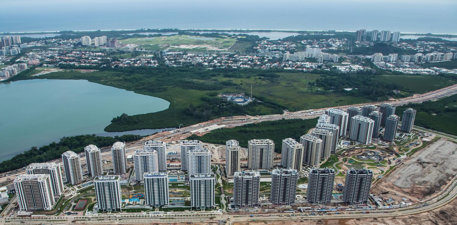 Rio de Janeiro 2016 - Olympische Dorf