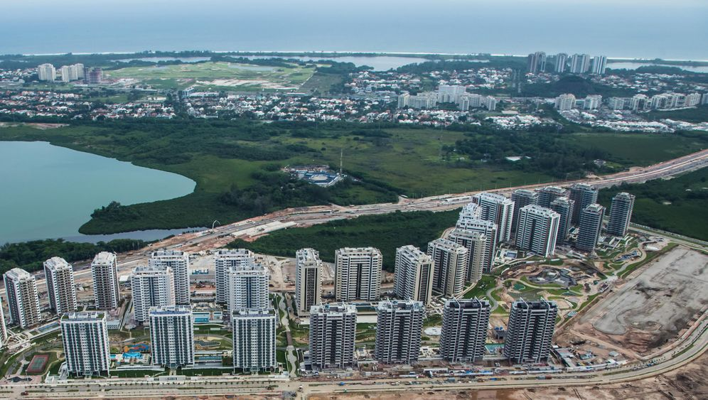 Olympia in Rio: Viele Mängel im Olympischen Dorf