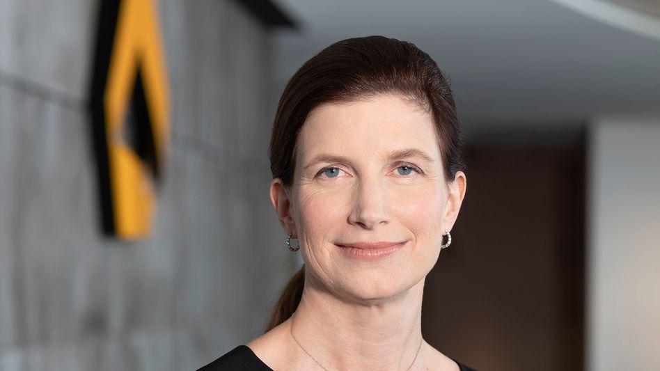Beinahe ganz oben: Bettina Orlopp ist künftig stellvertretende Chefin der Commerzbank