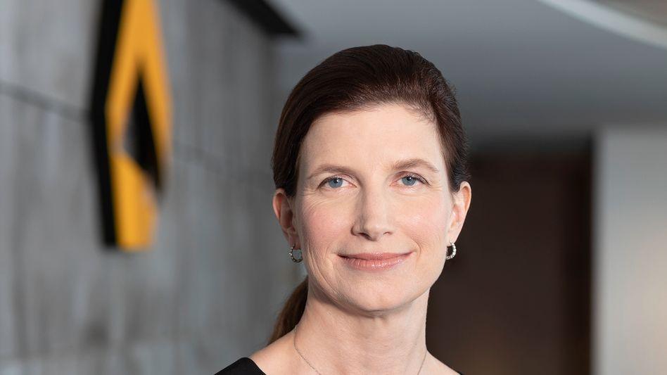 Will die Kosten weiter senken: Finanzchefin Bettina Orlopp gilt als interne Kandidatin für die Nachfolge des scheidenden Vorstandschefs Martin Zielke