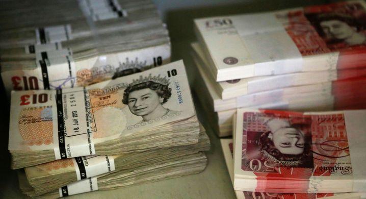 Britisches Pfund: Seit dem Brexit-Votum im Sommer 2016 hat das britische Pfund gegenüber Euro und Dollar deutlich abgewertet