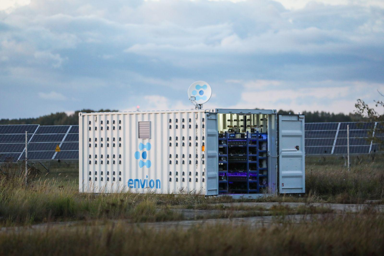 Kryptowährung / Mining-Container / Envion AG