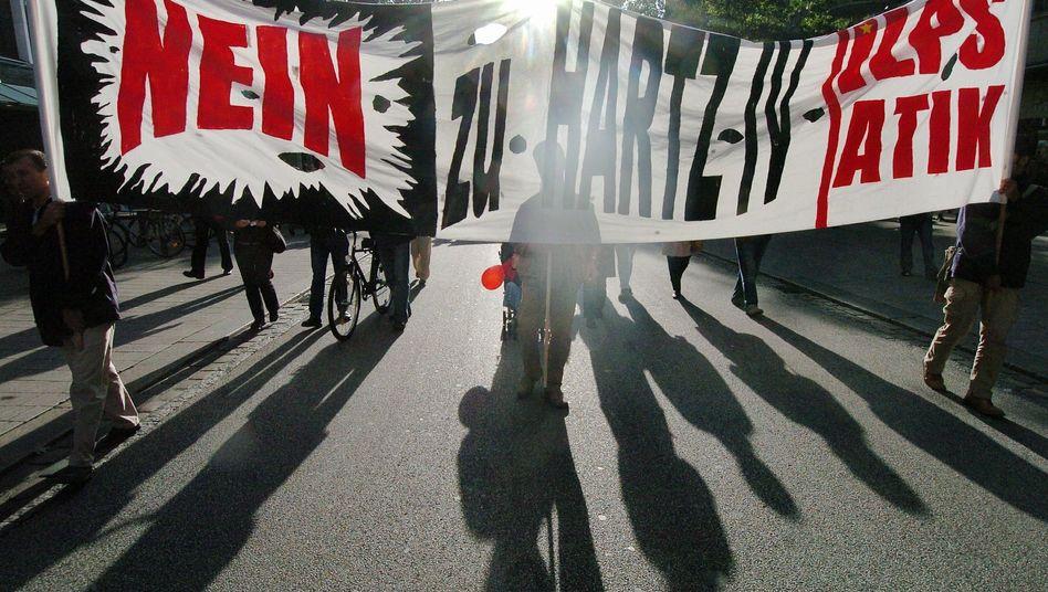 Reizthema: Seit ihrer Einführung im Jahr 2005 polarisieren die Hartz-Gesetze die Gesellschaft