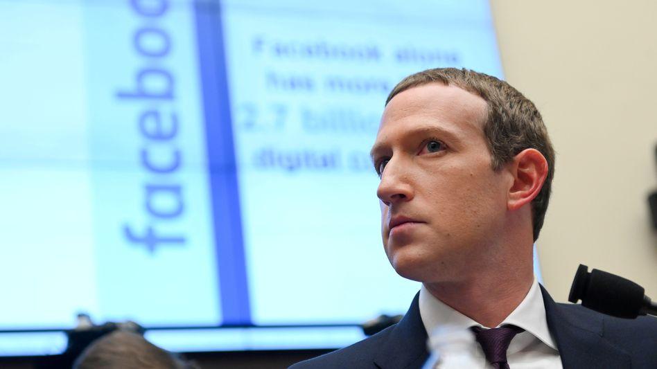 Was Zoom kann, kann er auch: Facebook-Chef Zuckerberg startet Videochat-Angebot.