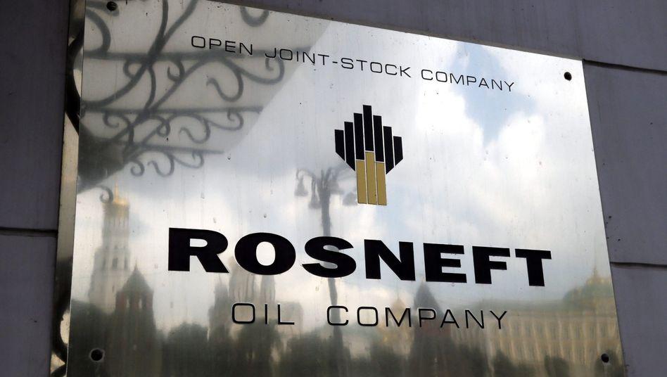 Rosneft-Zentrale in Moskau: Die eU will staatlich kontrollierte russische Ölkonzerne offenbar mit Sanktionen belegen