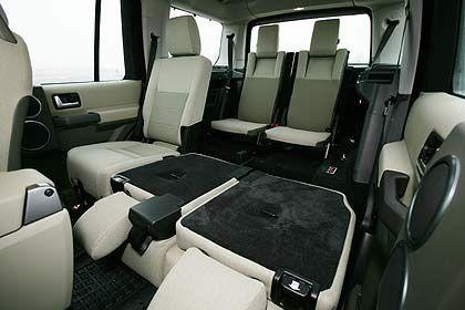 Optional sieben Sitze: Die letzte Reihe ist stufenlos im Kofferraum versenkbar