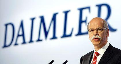 Stürmische Großwetterlage: Daimler-Chef Zetsche bekräftigt die Prognosen trotz Konjunktur- und Währungsrisiken