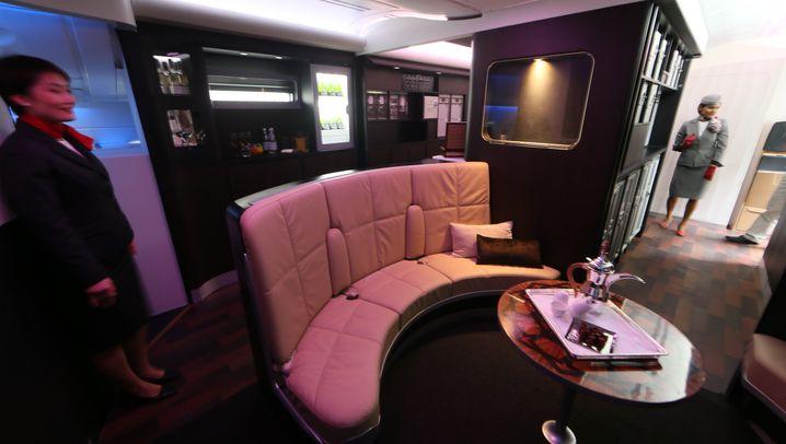 Luxus-Airline: Ein Apartment für den Flug