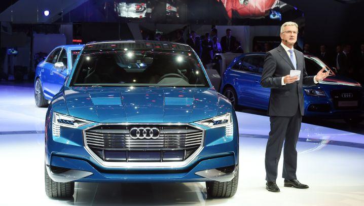 Audi E-Tron Quattro Concept: Dieser Elektro-SUV soll Tesla das Fürchten lehren